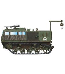 1:72 Високоскоростен влекач M4 High Speed Tractor (155mm/8-in./240mm)