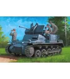 1:35  Германско самоходно оръдие German Flakpanzer IA w/Ammo.Trailer
