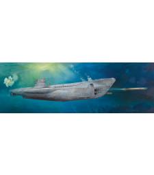 1:48 Германска подводница DKM U-Boat Type VIIC U-552