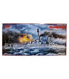 """1:350 Германски линеен кораб """"Кронпринц"""", Първа световна война (""""Kronprinz"""", WWI German Battleship)"""