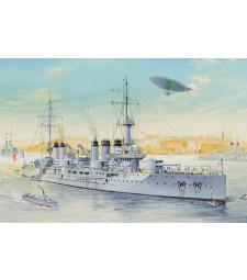 1:350 Френски боен кораб Волтер (French Navy Pre-Dreadnought Battleship Voltaire)