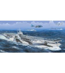 """1:350 Самолетоносач на САЩ USS """"Рейнджър"""" CV-4 (USS Ranger CV-4) - с метална верига на котвата"""
