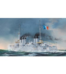 1:350 Френски кораб Pre-Dreadnought Battleship Condorcet