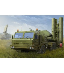 1:35 Russian BAZ-64022 with 5P85TE2 TEL S-400