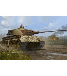 1:35 Германски танк Тигър II с металено оръдие (от Хеншел, производство юли 1945-та) (Pz.Kpfw.VI Sd.Kfz.182 Tiger II (Henschel July-1945 Production))