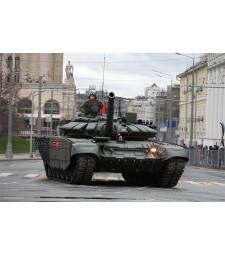 1:35 Руски основен боен танк Т-72Б3 (Russian T-72B3 MBT) - с метално въже и фотоец