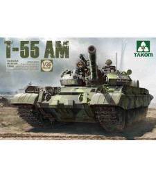 1:35 Руски среден танк T-55 AM