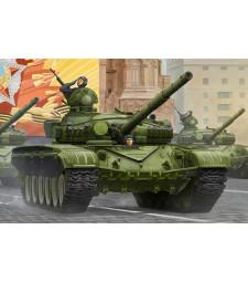 1:35 Руски основен боен танк Т-72, модел 1983 (T-72A Mod1983 MBT) - сметално въже и фотоец