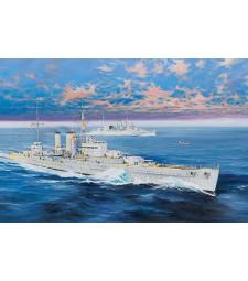 1:350 Британски тежък крайцер HMS Exeter