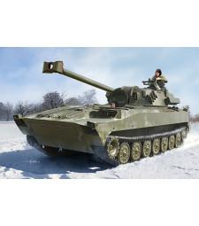 1:35 Руско самоходно оръдие 2S34 (Russian 2S34 Hosta Self-Propelled Howitzer/Motar) - с метално въже и фотоец