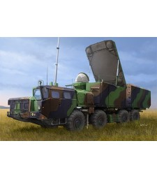 1:35 Руска радар система 30Н6Е (Russian 30N6E Flaplid Radar System) - с метално въже и фотоец
