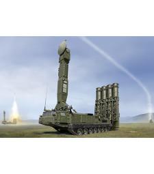 1:35 Руска ракетна установка С-300 9А83 САМ (Russian S-300V 9A83 SAM) - с метално въже и фотоец