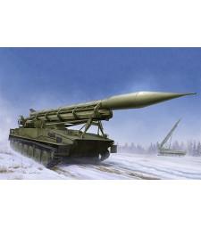 1:35 Руска ракетна установка 2П16 с ракета 2к8 Луна (2P16 Launcher with Missile of 2k6 Luna (FROG-5)) - с метално въже и фотоец