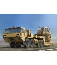 1:35 Американски военен влекач M983A2 HEMTT с полуремарке M870A1(M983A2 HEMTT Tractor with M870A1 Semi-Trailer)