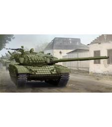 1:35 Руски основен боен танк Т-72А модел 1985 (T-72A Mod. 1985 MBT) - с месингова жичка и меден кабел