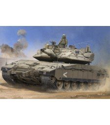 """1:35 Израелски танк Меркава MK IV с активна защита """"Трофей"""" (IDF Merkava Mk IV w/Trophy)"""