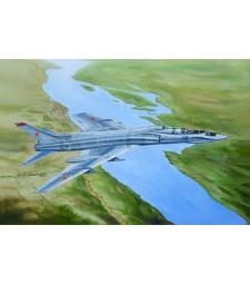 """1:72 Съветски изтребител-прехващач ТУ-128УТ """"Цигулар"""" (Tu-128UT Fiddler)"""