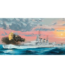 1:350 Италиански боен кораб Литорио (Italian Navy Battleship RN Littorio 1941)