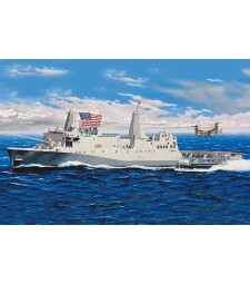 1:350 Американски транспортен док USS New York (LPD-21) - ново издание