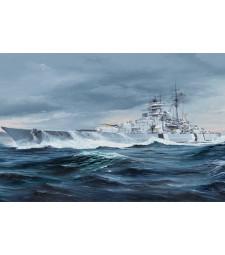 1:350 Германски линеен кораб Бисмарк (German Bismarck Battleship)