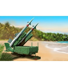 1:35 Soviet 5P71 Launcher with 5V27 Missile Pechora (SA-3B Goa) Rounds Loaded