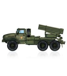 1:72 Руска ракетна установка BM-21 Grad Multiple Rocket Launcher