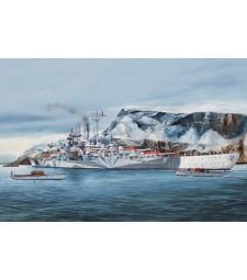 1:350 Германски боен кораб Tirpitz Battleship