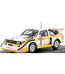 Audi SPORT QUATTRO S1 #5 ROHRL/GEISTDORFER WINNER RALLY SAN REMO 1985
