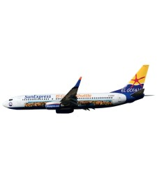 "1:200 SunExpress Boeing 737-800 ""El Gouna Shuttle"" - сглобка без лепило"