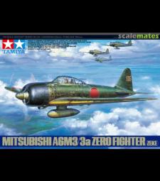 1:48 Японски изтребител Mitsubishi A6M3/3a Zero Fighter (ZEKE)