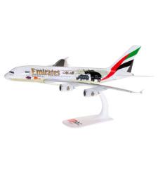 "1:250 EMIRATES AIRBUS A380 ""UNITED FOR WILDLIFE"" (NO.2) - сглобка без лепило"