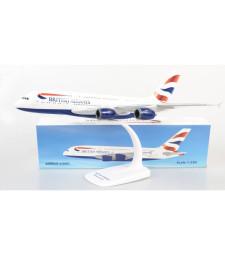 1:250 BRITISH AIRWAYS AIRBUS A380-800 - сглобка без лепило