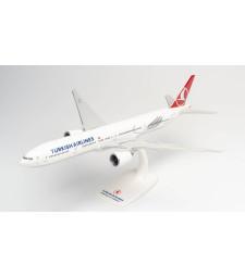 "1:200 TURKISH AIRLINES BOEING 777-300ER - TC-LJK ""IZMIR"" - сглобка без лепило"