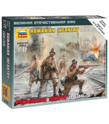 1:72  Румънска пехота  - сглобка без лепило