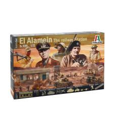 1:72 ДИОРАМА: Битката при Ел Аламейн - 116 фигури