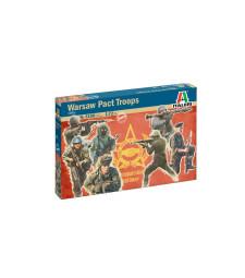 1:72 Войници на Варшавския договор 1980 (WARSAW PACT TROOPS) - 48 фигури