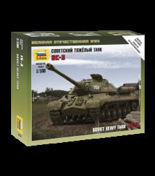 1:100 Съветски танк ИС-3 (SOVIET TANK IS-3) - сглобка без лепило
