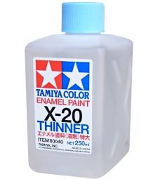 X-20 Enamel Thinner (250 ml) - Разредител за емайлова боя