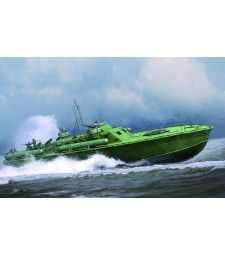 1:48 Американски торпеден катер Elco 80' Motor Patrol Torpedo Boat, Early Type - Сглобяем модел