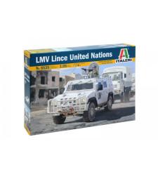 1:35 Брониран автомобил на ООН ИВЕКО ЛМВ (LMV LINCE UNITED NATIONS, IVECO)