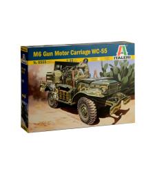 1:35 Военен автомобил с 37 мм оръдие (37mm Gun Motor Carriage M6)