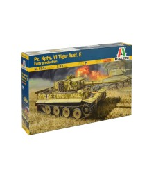 1:35 Германски танк TIGER 131 Early Version