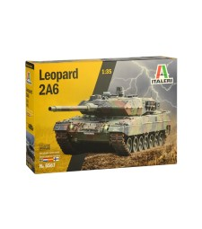 1:35 Германски основен танк Леопард 2А6 LEOPARD 2A6