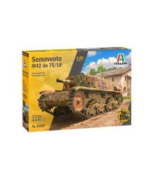 1:35 Италиански танк SEMOVENTE M.42 da 75/18
