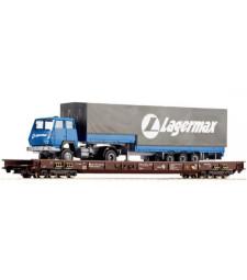 Toварен вагон-плтаформа с нисък под, DB, епоха IV
