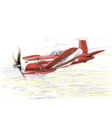 1:48 Самолет F2G Super Corsair