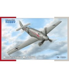 1:72 Германски самолет Messerschmitt Me 209V-4