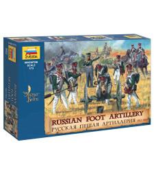 1:72 Руска пехотна артилерия 1812-15 (RUSSIAN FOOT ARTILLERY 1812-15)