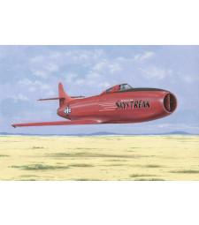1:72 Aмерикански едномоторен реактивен самолет D-558-1 Skystreak