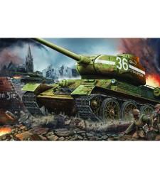 1:16 Съветски танк от Втората световна война T-34/85 модел 1944, Fty. 183